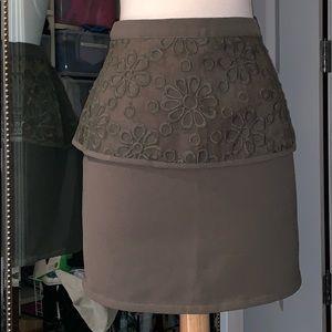 Sugarlips Skirts - PEPLUM MINI SKIRT